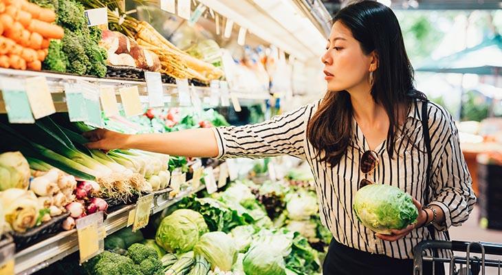 การเลือกซื้ออาหารที่มีประโยชน์